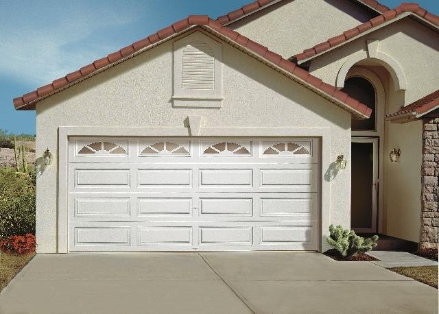 Match the garage door material with your home style for Garage door materials
