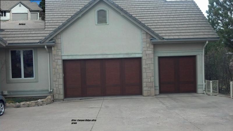 Canyon Ridge Collection One Clear Choice Garage Doors