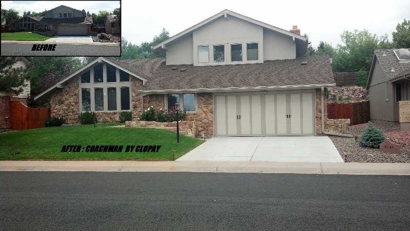 Clopay Coachman Garage Door One Clear Choice Garage Doors