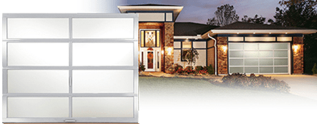 ALL GLASS GARAGE DOOR CLOPAY AVANTE COLLECTION