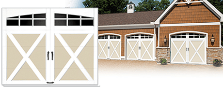 CLOPAY COACHMAN CUSTOM GARAGE DOOR DESIGNS