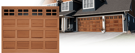 classic wood GARAGE door