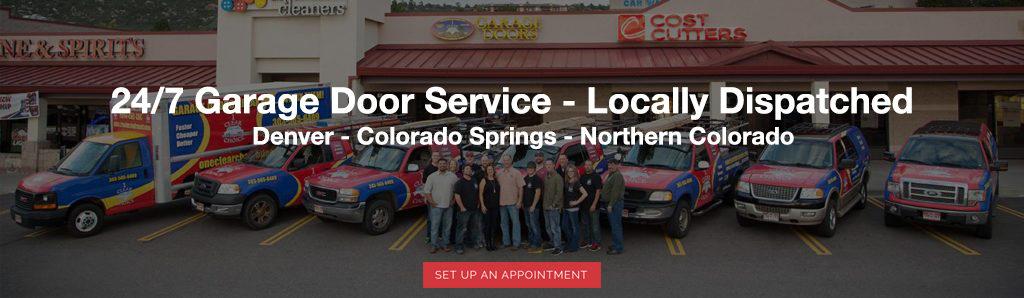 garage door service company Denver Colorado