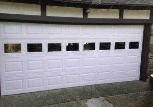 NEW GARAGE DOOR INSTALL