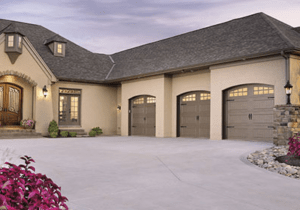 Steel Carriage House Garage Door - Solid Color Design- Clopay Gallery Collection