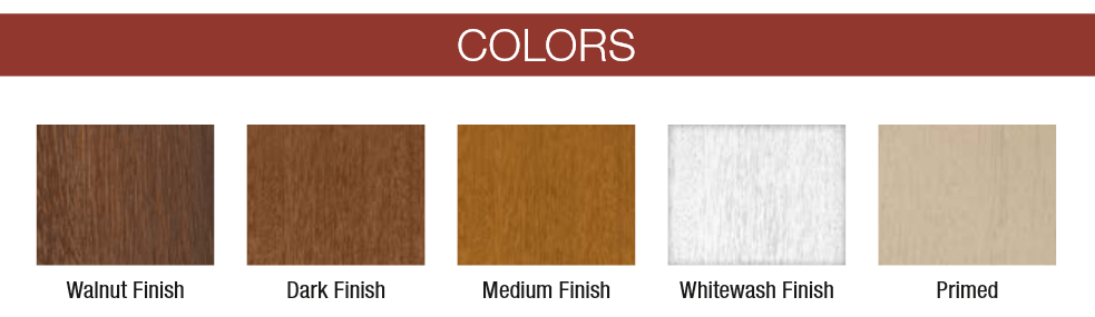 Canyon Ridge color options