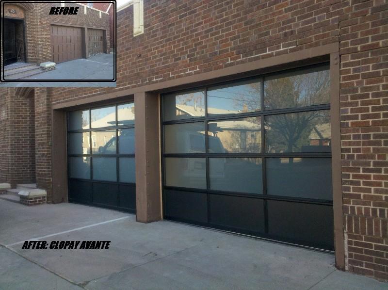 CLOPAY AVANTE GARAGE DOOR INSTALL