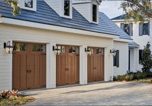Clopay Canyon Ridge Ultra Grain Composite Overlay Wood Alternative Garage Door
