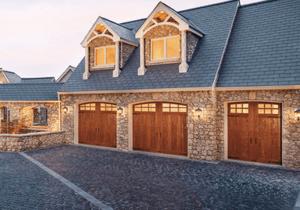 Clopay Canyon Ridge Imitation Wood Custom Garage Door Collection