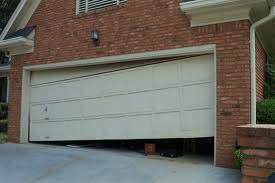 garage door repair BROKEN GARAGE DOOR