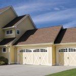 Composite Wood Garage Door