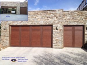 install new garage door