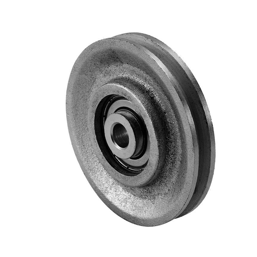 3 in. Cast Iron Pulley and Precision Bearing 3/8 in. Image