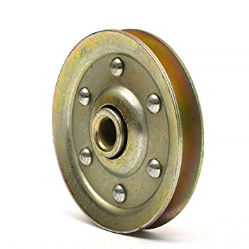 3″ Heavy Duty Solid Rivet Pulley 3/8 in. Image