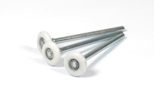 LIFETIME WARRANTY POLYURETHANE 13 BALL BEARING LONG STEM ROLLER REPLACEMENT. rollers, replace bad rollers, Fix noisy garage doors.