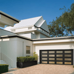 modern collection full view garage door