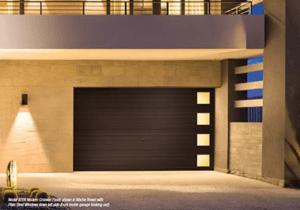 Clopay Modern Steel Side Light Garage Door Collection Colorado