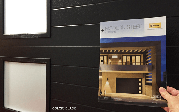 modern steel door brochure
