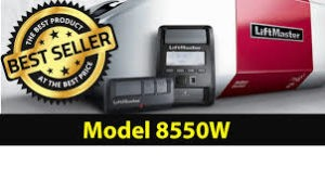 LiftMaster 8550W Wifi Belt Drive garage door opener with connectivity