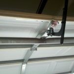 DAMAGED GARAGE DOOR PANEL-BROKEN PANEL REPLACEMENT