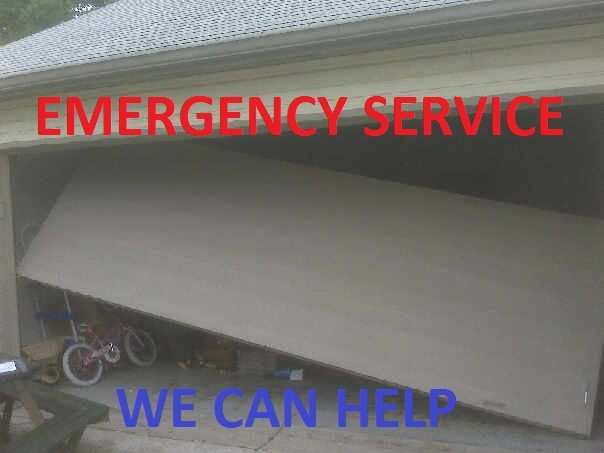 EMERGENCY GARAGE DOOR SERVICE