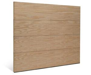 CLASSIC FLUSH WOOD GARAGE DOOR