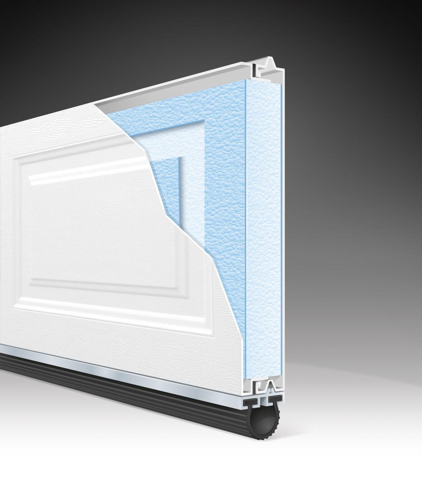 CLASSIC GARAGE DOOR STYRENE 2.0 CUTAWAY