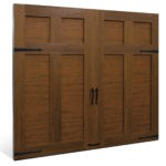 Canyon Ridge Ultra Grain Faux Wood Garage Door