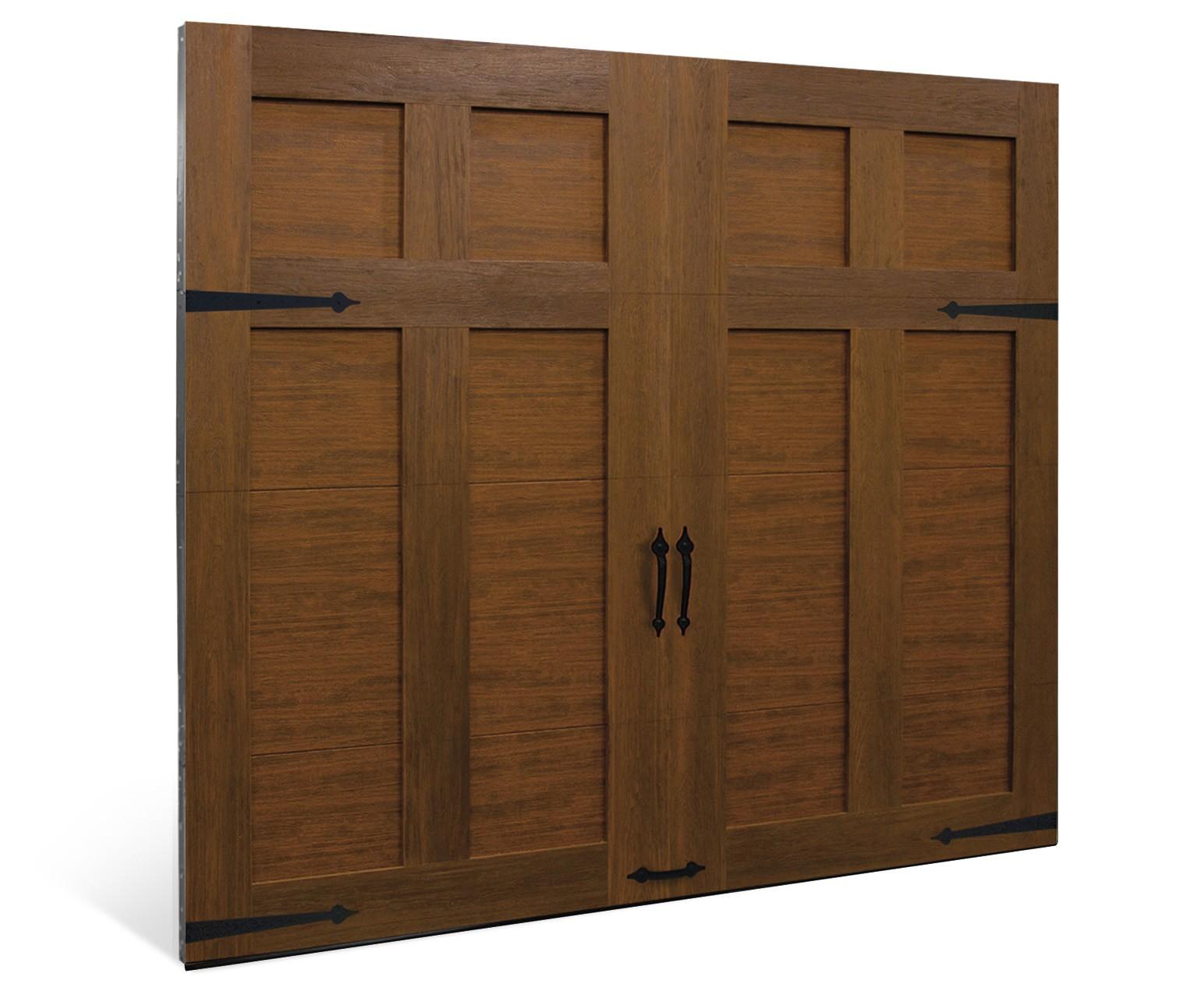 Canyon Ridge Ultra Grain Faux Wood Garage Door