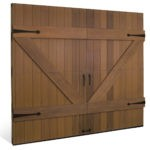 Clopay Reserve Wood Limited Edition Stained Garage door