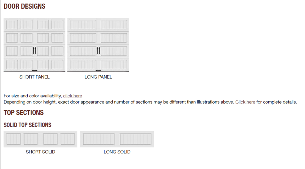 GALLERY PANEL OPTIONS