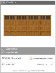 home depot garage door pricing gallery