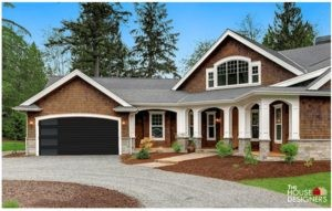 clopay modern flush black with long side windows garage door imagination