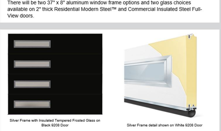 Contemporary Slim Window Modern Collection